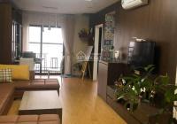 Bán căn 2 ngủ 2 vệ sinh 2 logia 78m2 full nội thất sổ lâu dài ban công Đông Nam, LH: 0989044647