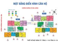 Bán căn hộ CT2 1204 - 124,74m2, 1206 - 124m2 và 12 09 CT1 - 124m2 giá 29tr/m2. LH 0966292726