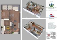 Cần bán căn chung cư 103,1m2, 3PN tầng trung.