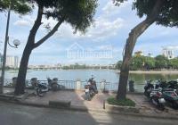 Bán gấp nhà mặt hồ Hoàng Cầu, kinh doanh vip, DT 105m2, 1 tầng MT 5,5m. Giá 15,8 tỷ 0358698898