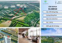 Căn Duplex 60m2 Đông Nam duy nhất chỉ 2.6 tỷ, tặng gói nội thất, LH: 0977256295