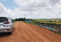 Cần bán đất Xã Hòa Thắng, sổ đỏ chính chủ, mặt tiền, đất phẳng, giá chỉ 130 ngàn/m2