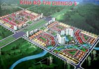 Mua bán đất nền liền kề, biệt thự KĐT Cienco5 Mê Linh, giá từ 15tr/m2, bao sang tên chính chủ