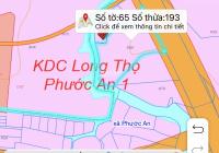 Bán đất mặt tiền đường liên cảng xã Phước An, Nhơn Trạch, Đồng Nai. Một mặt sông, một mặt đường.