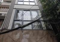 Bán nhà MN Kim Mã 6 tầng, thang máy, gara ô tô, sân cầu lông trước nhà, cho thuê 35tr/th: 7.5 tỷ