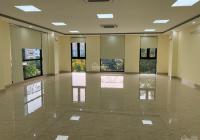 Cho thuê văn phòng giá rẻ, DT sàn 130m2 nằm trong tòa nhà 9 tầng, mới xây có thang máy, hầm để xe