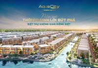 Chỉ với 450 triệu sở hữu ngay nhà phố tuyệt đẹp cạnh sông, công viên với gói cam kết lãi suất 13%