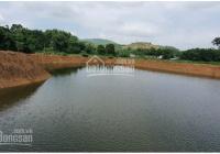 Bán đất xã thổ cư Hòa Sơn, Lương Sơn DT 4200m2 view cánh đồng đẹp ao rộng giá rẻ