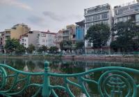 Mảnh đất đẹp mặt phố Yên Hoa và 1 mặt ngõ Yên Phụ nhỏ, vỉa hè 2 bên