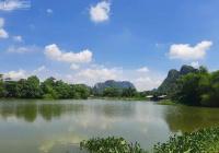 Bán 2932m2, 1200m2 ONT đất bám mặt hồ chạy bao quanh như một ốc đao tại Lạc Thủy - Hòa Bình