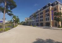 Bán shophouse dự án Harbor Bay có vỉa hè rộng 8m, phía trước là công viên