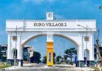 Cần bán lô đất biệt thự Euro Village 2, Hòa Xuân, Cẩm Lệ view kênh thoáng mát
