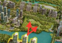 """""""Không chênh"""" căn hoa hậu 3PN view hồ Thiên Nga căn hộ khoáng nóng Onsen 0898083866"""
