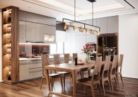 Tòa Diamond CC Goldmark City bán căn góc 135m2, 3 phòng ngủ view penthouse rất thoáng