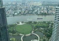 Penthouse 397.2m2 - sân vườn riêng 81m2 gồm 4PN view sông SG & trung tâm Q1 tầng cao NH cho vay 70%