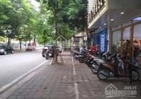 Cho thuê 25m2 mặt bằng khép kín phố Nghĩa Tân. LH A Minh 0989740437