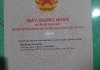 Chính chủ cần tiền bán gấp lô đất vị trí đẹp Xã Ea Tiêu, huyện Cư Kuin, Đắk Lắk 189m2