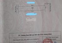 Chính Chủ gởi bán lô đất mặt tiền Bạch Mai, Đồng Thái, An Dương