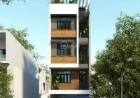 Bán gấp nhà MT đường Võ Thị Sáu P Tân Định Quận 1 DT 5 x 15m 5 tầng hiện đang có thu nhập 110 tr/th