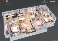 Bài toán đầu tư căn hộ cao cấp The Sang, 20% sở hữu, cho thuê 30 triệu/tháng, miễn gốc lãi 24 tháng