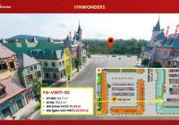 Shop Vinwonders PQ, suất căn shop nằm mặt tiền đường vào cổng bán vé. Vốn đầu tư chỉ 3.8 tỷ/4 năm