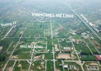 Chính chủ cần bán LK16 khu A. KDT Cienco5, Mê Linh, HN. Và đón đầu dự án HUD Mê Linh Central