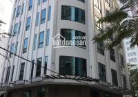 Bán gấp tòa nhà mặt phố Hoàng Quốc Việt lô góc - 100m2 - 7T - MT 6m - Thông sàn - Thang máy - 36 tỷ