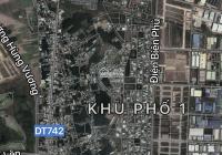 Lô góc D1 và N23 tái định cư Phú Tân, vị trí vip giá đầu tư, Phường Phú Tân, Thủ Dầu Một, BD