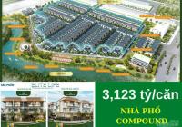 Cần bán nhà 1 trệt 2 lầu mái đúc, giá 3,123 tỷ