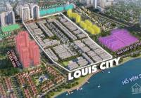 Bán lô mặt đường 30m dự án Louis City Hoàng Mai giá rẻ cho nhà đầu tư mùa dịch