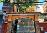 Cho thuê nhà phân lô ô tô tránh nhau tại Hoàng Quốc Việt, DT: 154 m2 * 4 tầng. Đủ điều hòa