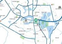 Bán căn hộ Phương Đông Green Park - Hoàng Mai, DT: 52m2, H: ĐN, giá 1.55 rẻ nhất thị trường
