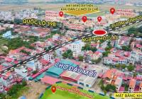 Cần tiền tôi bán nhanh lô đất DT: 95M2, đường rộng 16,5M đối diện bể bơi huyện Tiên Lữ, Hưng Yên