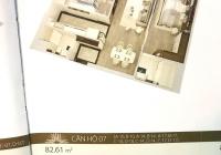Cần bán CHCC 76.6m2, tầng 7, nội thất cao cấp, bàn giao nhà ngay, LH: 0913851111