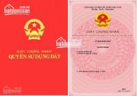 Chính chủ cần bán ô đất đấu giá đường Cát Linh, Tân Thành, thành phố Ninh Bình, DT: 100m2, MT: 5m