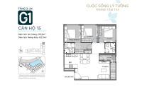 Chính chủ cần bán gấp căn 3 phòng ngủ hoa hậu tòa G1 Vinhomes Green Bay Mễ Trì tầng 15 - 0909132255