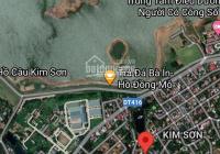 Bán đất nghỉ dưỡng gần hồ Đồng Mô, lô góc 1.103m2