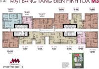 (Chính chủ) bán gấp Metropolis tòa M3 146m2, 4PN căn góc vip đẹp nhất dự án, giá siêu rẻ chỉ 12tỷ