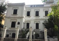 Cho thuê biệt thự Phố Vọng thông sang Trần Đại Nghĩa, DT 150m2, 4 tầng, MT 11m