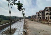 Biệt thự view sông khu đô thị Quang Minh giá chỉ 31tr/m2