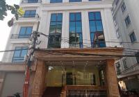 Cho thuê nhà Định Công Thượng, Thanh Xuân. DT 120m, 8 tầng nổi + 1 hầm. Thông sàn, giá 80 triệu