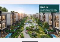 Nhà phố đối diện công viên, trường mầm non quốc tế 5.5x20m giá 73trđ.m2