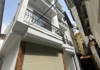 Bán nhà mặt ngõ Minh Khai, Hai Bà Trưng, 35m2x4T giá 3.4 tỷ nhà mới đẹp, ngõ to rộng