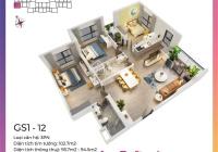 Căn 3 phòng ngủ, 82m2, giá 2,66 tỷ, duy nhất tại Vinhomes Smart City Tây Mỗ