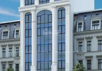 Bán tòa nhà văn phòng phố Trần Thái Tông. DT 186m2, MT 11m, xây dựng 9 tầng thang máy, 0989864579