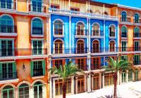 Nhà phố Địa Trung Hải cáp treo Phú Quốc view biển - sổ hồng lâu dài - giá 20.5 tỷ - hàng độc quyền