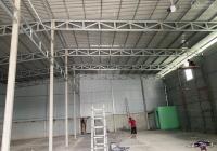 Cho thuê kho xưởng đất 1200m2, DT xưởng 800m2 tại Hóc Môn - HCM