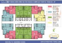 Cần bán căn hộ chung cư Osaka, giá 27,5tr/m2