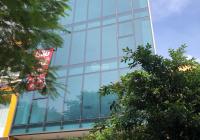 Cho thuê tòa nhà mặt phố Nguyễn Khang. DT: 100m2 * 7 tầng + 1 hầm, MT: 8m, thông sàn