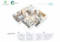 Bán căn hộ 46m2, tầng trung, ban công Đông Nam, view hồ, bể bơi, LH 0328920737 (Zalo)